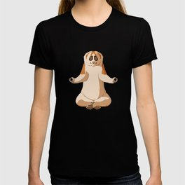Meditate Slow Loris Monkey T-shirt