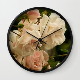 A Bed of Roses Wall Clock