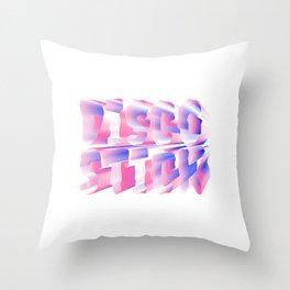 Disco Stick Throw Pillow
