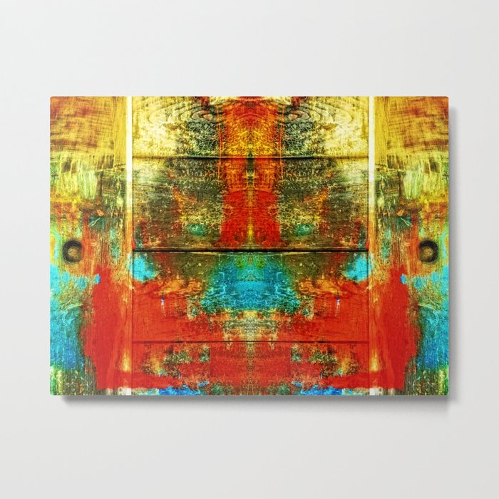 Colors-Feeling Metal Print