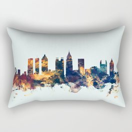 Atlanta Georgia Skyline Rectangular Pillow