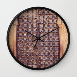 Doors Of Rajasthan 4 Wall Clock