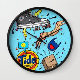 Top of Mind Wall Clock
