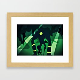 The Ill Will Framed Art Print