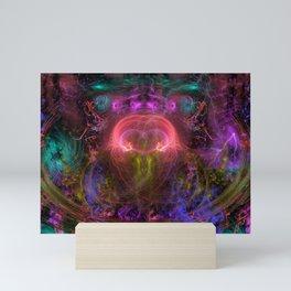 Queen Evette's Cyclonic Radiance Mini Art Print
