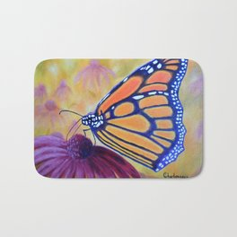 King of butterfly | Le roi des papillons Bath Mat