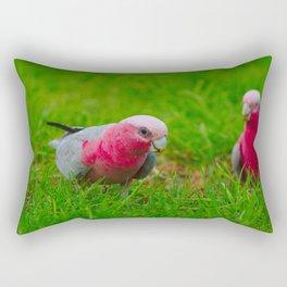 A Pair Of Cheeky Galahs Rectangular Pillow