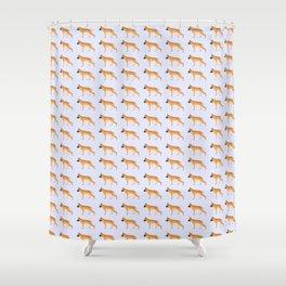 German Shepherd: Golden Shower Curtain