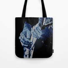 Mosaic Blues Tote Bag
