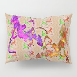 Fights of knights Pillow Sham