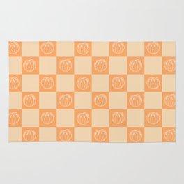 Tangerine Pattern Rug