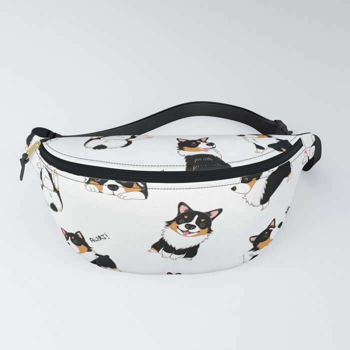 Tri Cute as Hecc Fanny Pack
