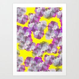 Gardenia vibes Art Print