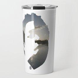 Face & The Ocean Travel Mug