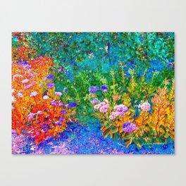 The Garden By Annie Zeno  Canvas Print