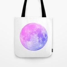 Neon Moon Tote Bag
