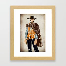 Blondie Poster from The Good the Bad and the Ugly Framed Art Print