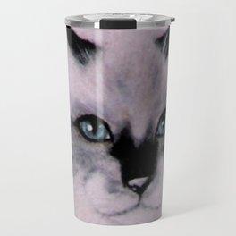 Birman Cat painting Travel Mug
