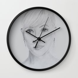 Portrait Reese Wall Clock