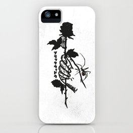 Blackwidow & Rose iPhone Case