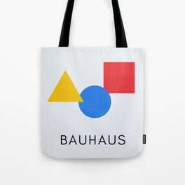 Bauhaus - Geometric Art Tote Bag