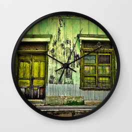 Doorways I Wall Clock