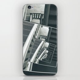 Spinning Carpeted Stairwell iPhone Skin