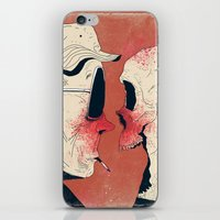 hunter s thompson iPhone & iPod Skins featuring Hunter S. Thompson by Dushan Milic
