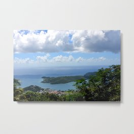 Over the Clouds in St Thomas Metal Print
