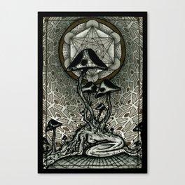 Shroom Consumed Canvas Print