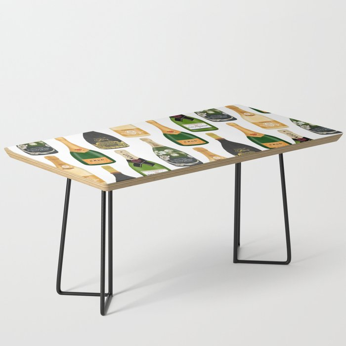 Champagne Bottles Coffee Table