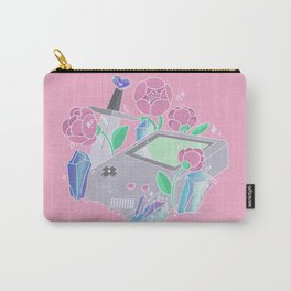 Gameboys and Peonies Carry-All Pouch