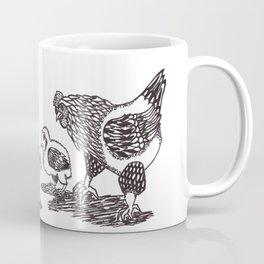 Chicken Family Coffee Mug