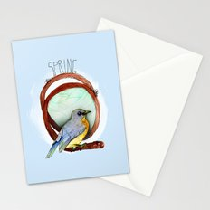 Spring birdy / Nr. 2 Stationery Cards