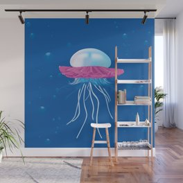 I Don't Think You're Ready For This Jelly(fish) Wall Mural