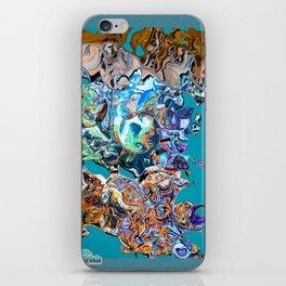 Art meltdown iPhone Skin