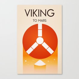 Viking To Mars Canvas Print