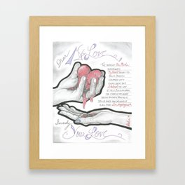 Love's Hopes Framed Art Print