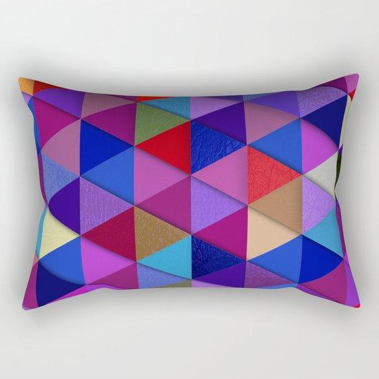 Abstract #286 Rectangular Pillow