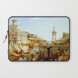 Cole Thomas The Consummation The Course of the Empire Laptop Sleeve
