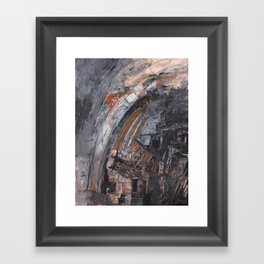Abstract 2014/11/26 Framed Art Print