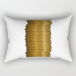 Stack Of Coins Rectangular Pillow