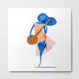 dancer with banjo Metal Print