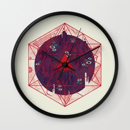 Containment Wall Clock