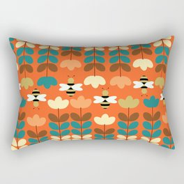Happy workers Rectangular Pillow