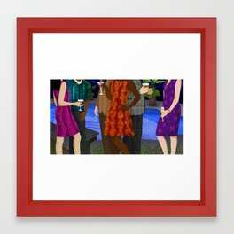 TEDMED Party Framed Art Print