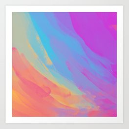 full color summer Art Print