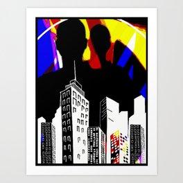 Cabsink16DesignerPatternLIC Art Print