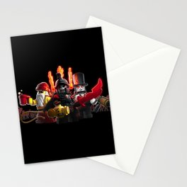 The Heroes of Zombie Zulu Dawn Stationery Cards