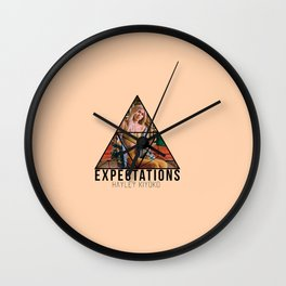 hayley exp Wall Clock